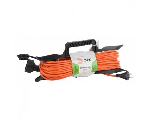 ЭРА Удлинитель силовой UFx-1-2x1.0-30m-IP44 на рамке б/з 1 гн 30м ПВС 2х1