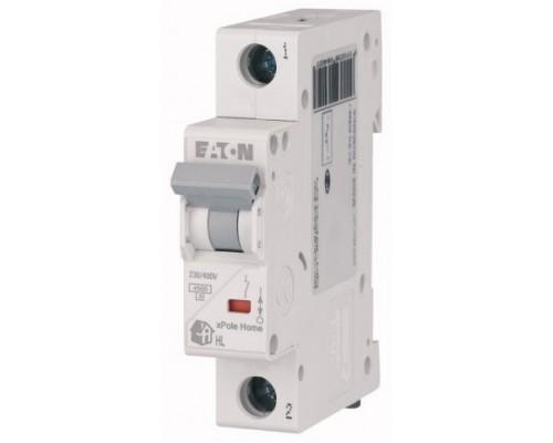Авт. выключатель HL-C20/1, 1P, 20A, хар-ка C, 4.5kA, 1M, Eaton