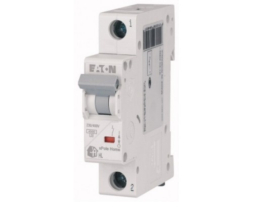 Авт. выключатель HL-C16/1, 1P, 16A, хар-ка C, 4.5kA, 1M, Eaton