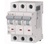 Авт. выключатель HL-C25/3, 3P, 25A, хар-ка C, 4.5kA, 3M, Eaton
