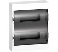 Schneider Easy9корпус навесной с прозрачной дверью 2 ряда/24 модуля
