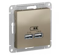 Usb розетка Schneider Electric AtlasDesign ATN000533