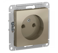 Розетка без заземления Schneider Electric AtlasDesign ATN000541