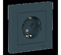 Розетка с заземлением со шт Schneider Electric AtlasDesign ATN000844