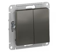 2-клавишный проходной выключатель Schneider Electric AtlasDesign ATN000965
