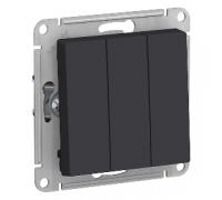 3-клавишный выключатель Schneider Electric AtlasDesign ATN001031