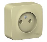 РОЗЕТКА без заземления без шторок Schneider Electric Blanca BLNRA000117, ИЗОЛ.ПЛ., 16А, 250В, БЕЖЕВЫЙ