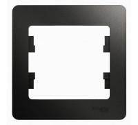 1-постовая РАМКА,   АНТРАЦИТ, Schneider Electric, Серия Glossa, GSL000701
