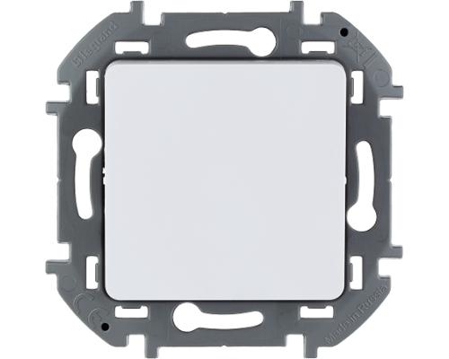 Выключатель одноклавишный 10 AX 250 В - Legrand INSPIRIA - белый.