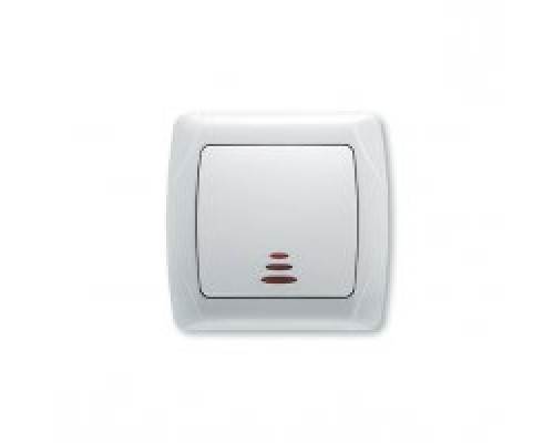 VIKO CARMEN  Выключатель одноклавишный с подсветкой
