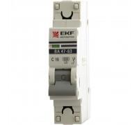 Автоматические выключатели EKF ВА 47-63 1Р 10А 4,5кА
