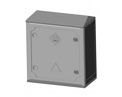 Антивандальный корпус ЩУР 4х4х2 (Лида) IP54