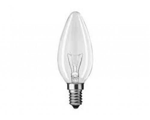 Лампа накаливания  220V  40W E14 ДС