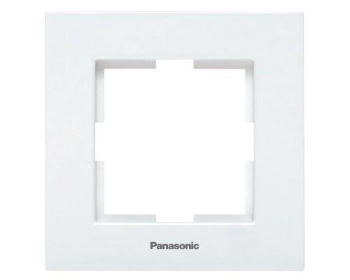 Рамка 1-ая Panasonic Arkedia белая
