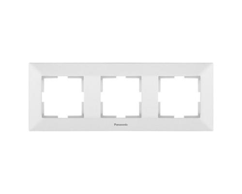 Рамка 3-ая Panasonic Arkedia белая