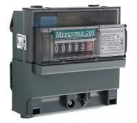 Счетчик электроэнергии однофазный Меркурий 201.5 60A 230V