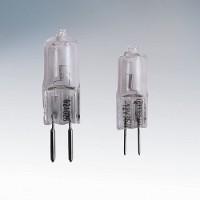 Лампа галогенная АКЦЕНТ JC 220В 20W G4 капсульная прозрачная
